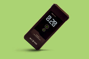Home electrochemical breathalyzer PRO X-5