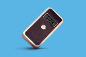 Pocket alcohol breathalyzer AL-7000